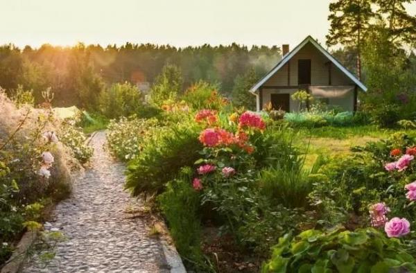 庭院,一半是家,一半是风景!
